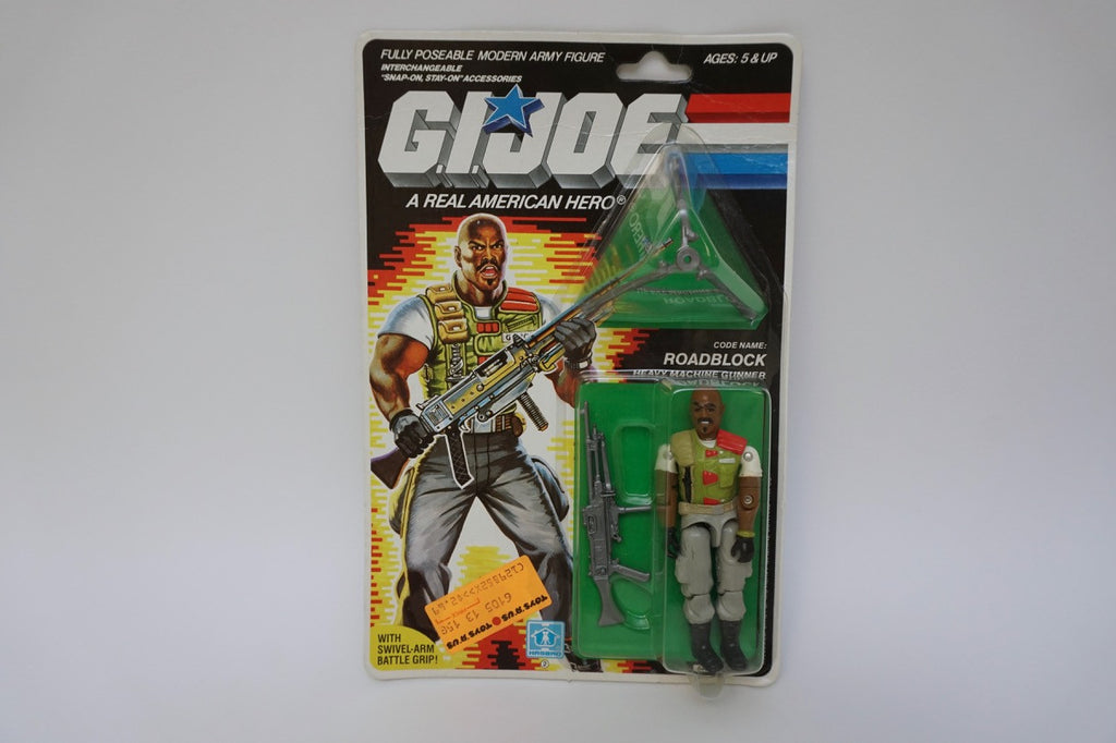 1985 Vintage GI Joe Roadblock MOC Sealed New