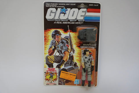 1985 Vintage GI Joe Mainframe MOC Sealed New