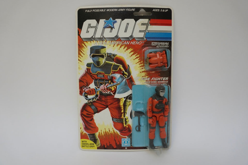 1985 Vintage GI Joe Barbecue MOC Sealed New