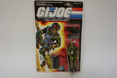 1988 Vintage GI Joe Hit & Run MOC Sealed New