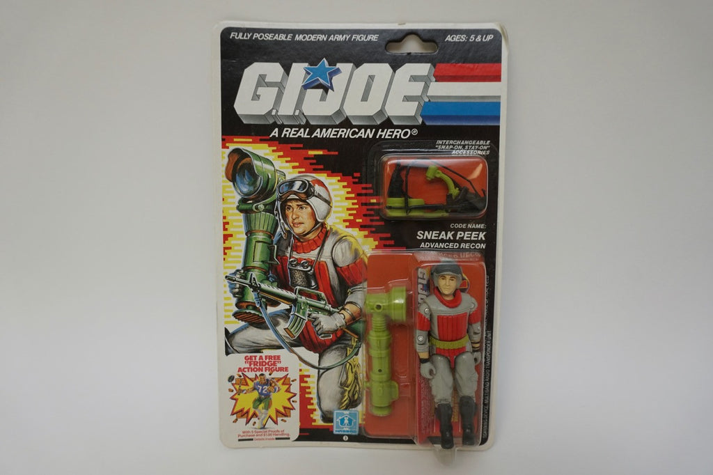1987 Vintage GI Joe Sneak Peek MOC Sealed New