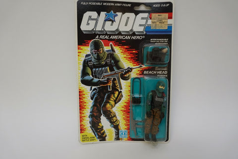 1985 Vintage GI Joe Beach Head MOC Sealed New