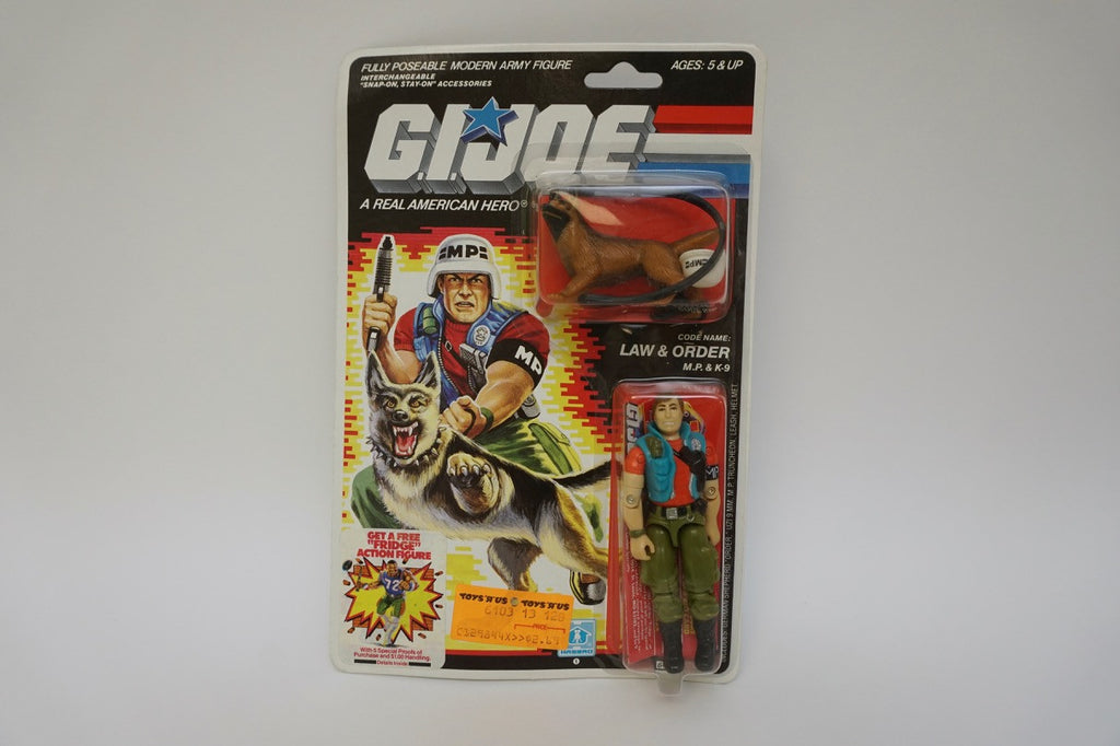 1986 Vintage GI Joe Law & Order MOC Sealed New