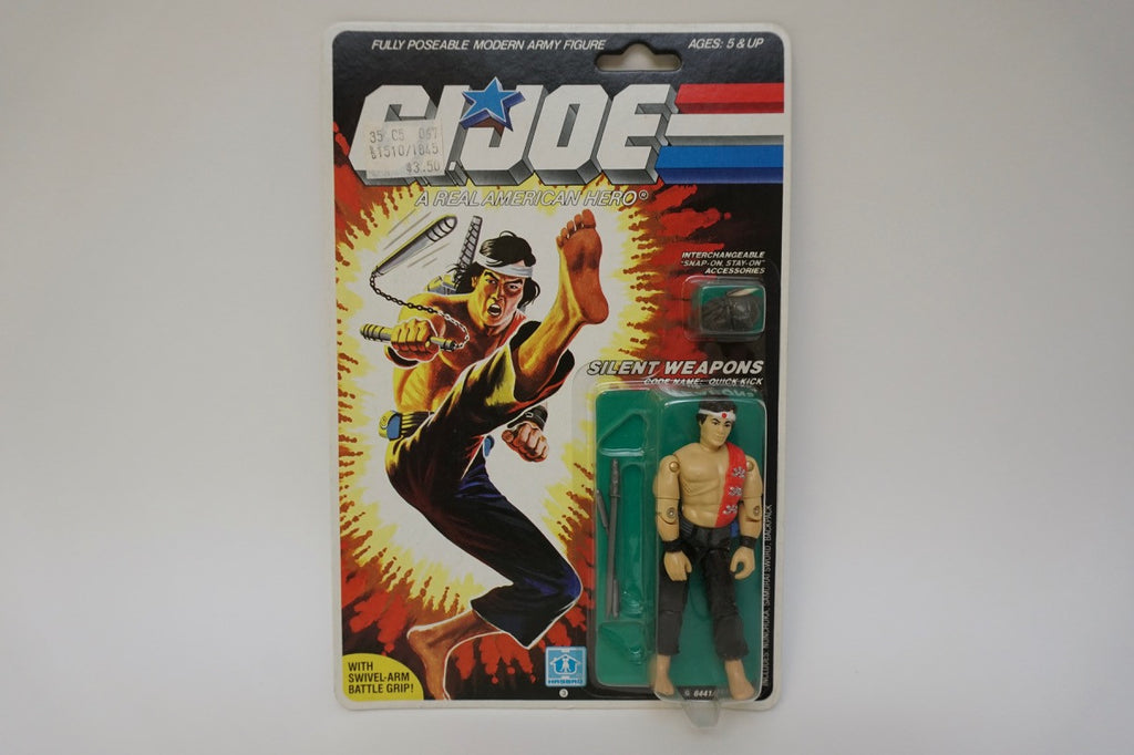 1985 Vintage GI Joe Quick Kick MOC Sealed New