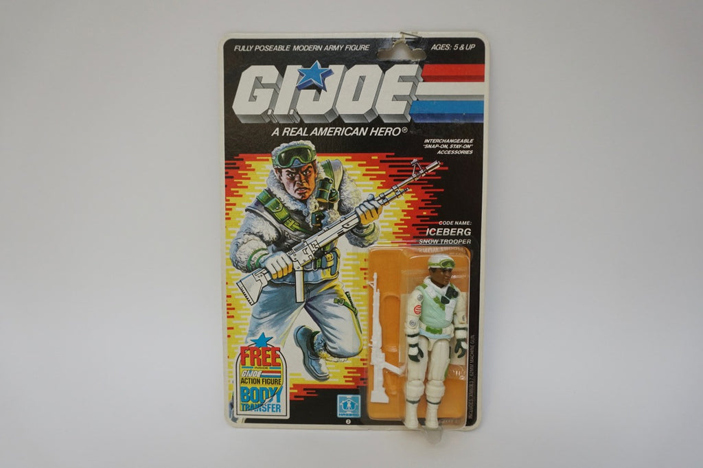1985 Vintage GI Joe Iceberg MOC Sealed New