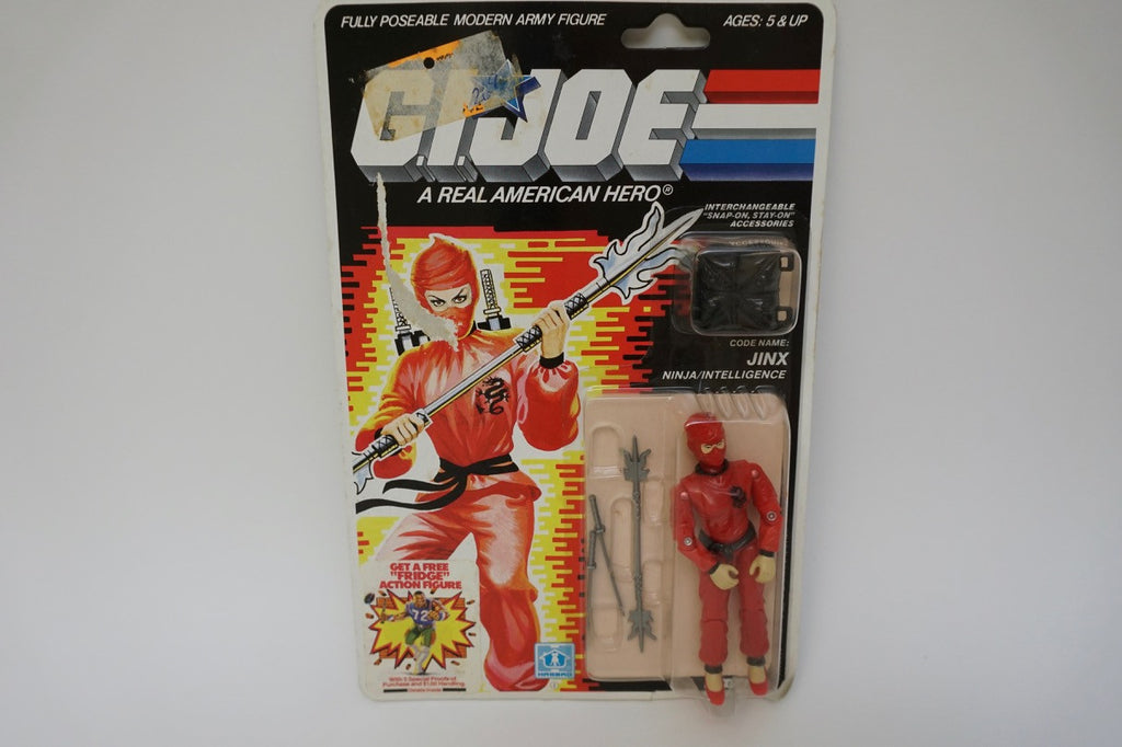 1986 Vintage GI Joe Jinx MOC Sealed New