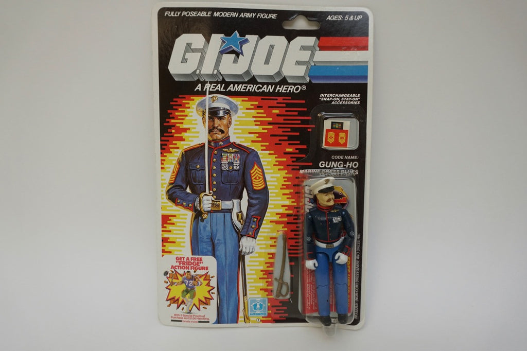 1986 Vintage GI Joe Gung-Ho MOC Sealed New