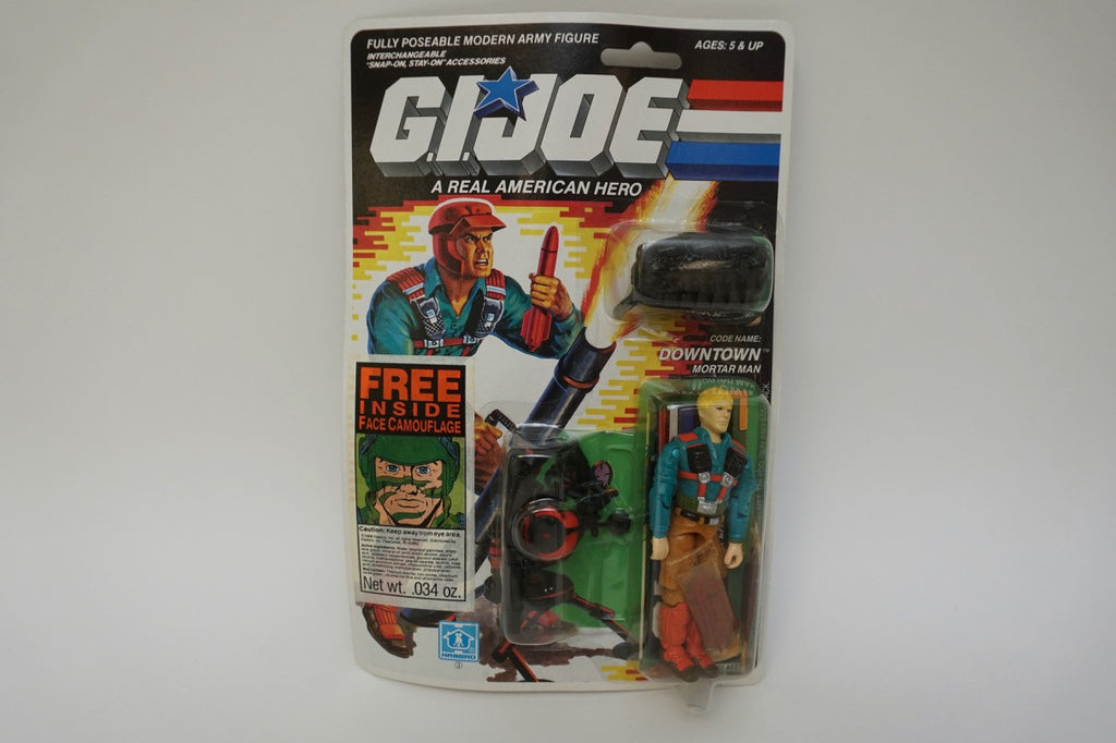 1988 Vintage GI Joe Downtown MOC Sealed New