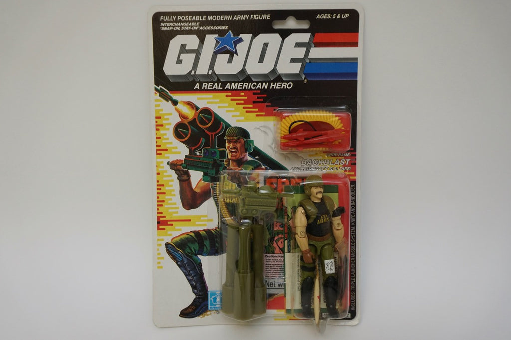 1988 Vintage GI Joe Backblast MOC Sealed New
