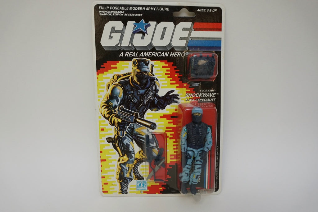 1987 Vintage GI Joe Shockwave MOC Sealed New