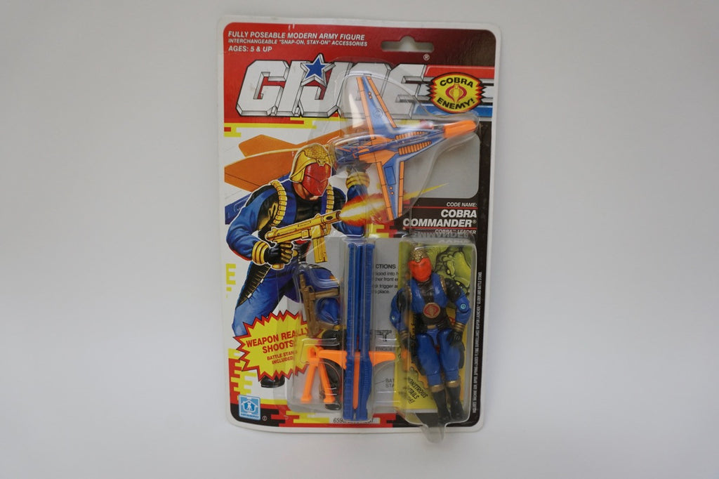 1990 Vintage GI Joe Cobra Commander MOC Sealed New