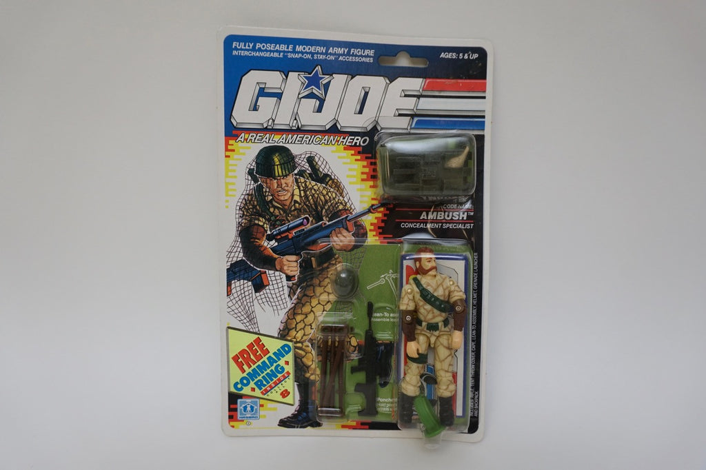1989 Vintage GI Joe Ambush MOC Sealed New