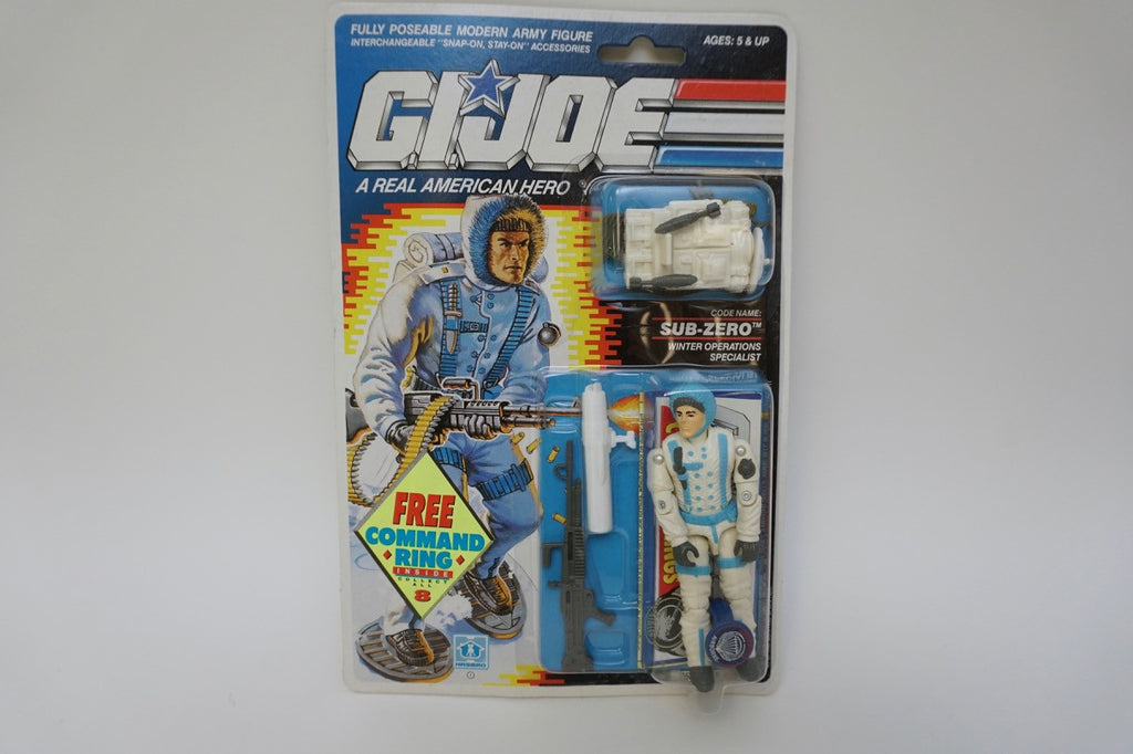 1989 Vintage GI Joe Sub-Zero MOC Sealed New