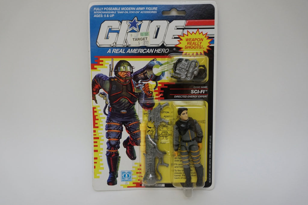 1990 Vintage GI Joe Sci-Fi MOC Sealed New