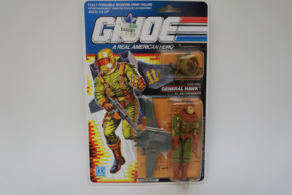 1991 Vintage GI Joe General Hawk MOC Sealed New