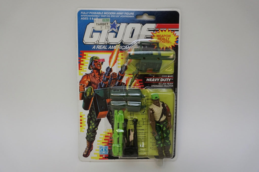 1990 Vintage GI Joe Heavy Duty MOC Sealed New