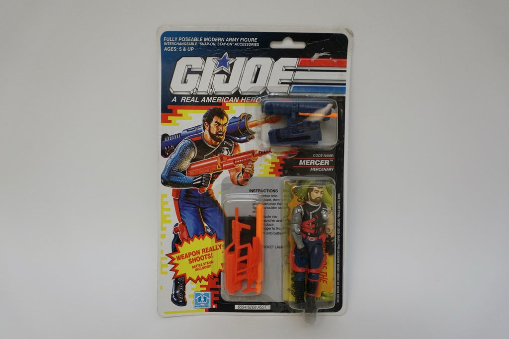 1991 Vintage GI Joe Mercer MOC Sealed New