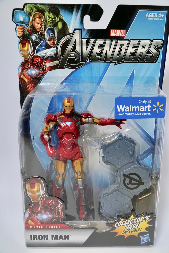 Hasbro Marvel Legends Walmart Exclusive Avengers Movie Iron Man Mark VI SEALED Unopened