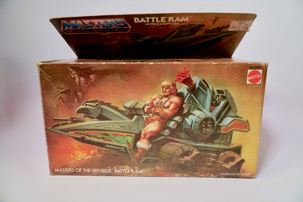 1982 Mattel He-Man & The Masters of the Universe Battle Ram In Original Box