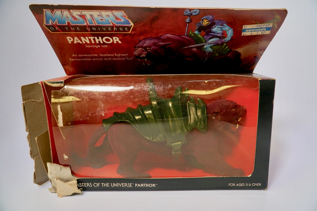 1982 Mattel He-Man & The Masters of the Universe Skeletor's Panthor Original Box