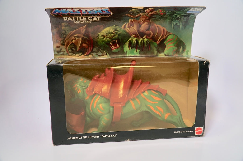 1982 Mattel He-Man & The Masters of the Universe Cringer Battle Cat Original Box