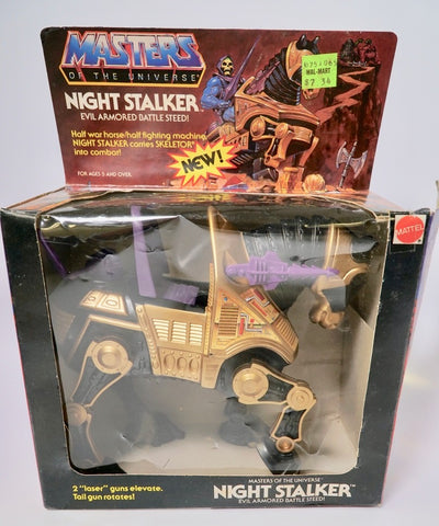 1982 Mattel He-Man & The Masters of the Universe Night Stalker Evil Steed Original Box