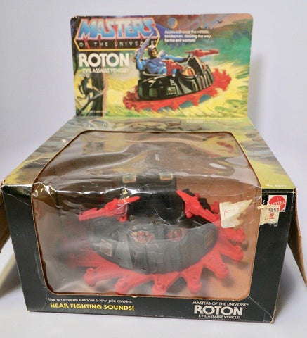 1982 Mattel He-Man & The Masters of the Universe Roton Evil Assault Vehicle Original Box