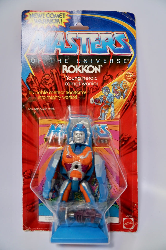 1985 Mattel He-Man & The Masters of the Universe ROKKON Stone Rock People MOC Unopen
