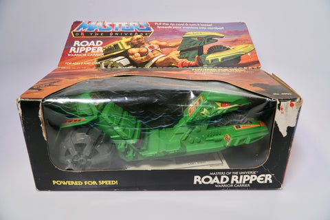 1982 Mattel He-Man & The Masters of the Universe Road Ripper In Original Box