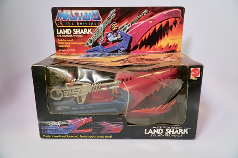 1982 Mattel He-Man & The Masters of the Universe Land Shark Original Box