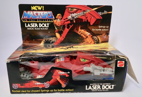 1982 Mattel He-Man & The Masters of the Universe Laser Bolt Original Box
