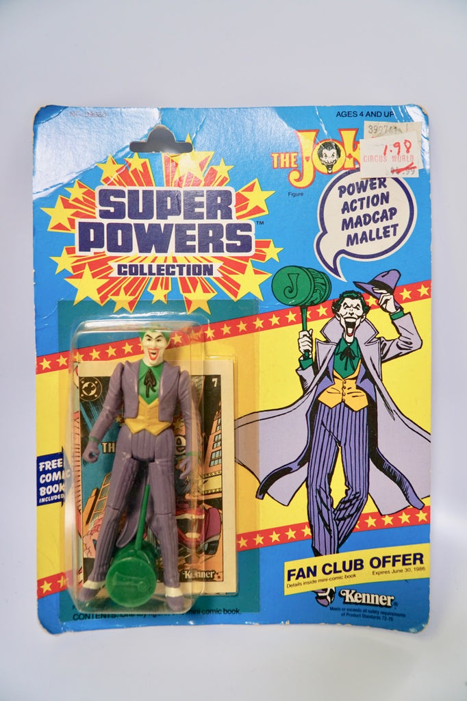 1985 Kenner Super Powers 23 Back Joker MOC SEALED Unopened