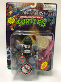 Vintage Playmates Teenage Mutant Ninja Turtles TMNT Adventurers Deep Sea Diver Leonardo w/ Coin MOC