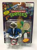 Vintage Playmates Teenage Mutant Ninja Turtles TMNT Adventurers Arctic Donatello w/ Coin MOC