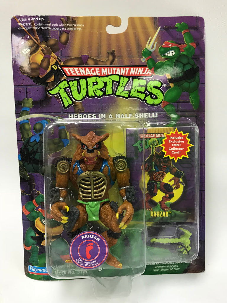 Vintage Playmates Teenage Mutant Ninja Turtles TMNT Rahzar MOC