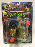 Vintage Playmates Teenage Mutant Ninja Turtles TMNT Warriors of the Forgotten Sewer Savage Leo MOC SEALED