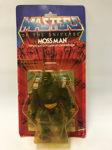 1985 Mattel He-Man & The Masters of the Universe Moss Man Mossman MOC Factory Sealed