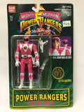 1994 Bandai Power Rangers Auto Morphin Flip Head Pink Ranger Kimberly MOC SEALED