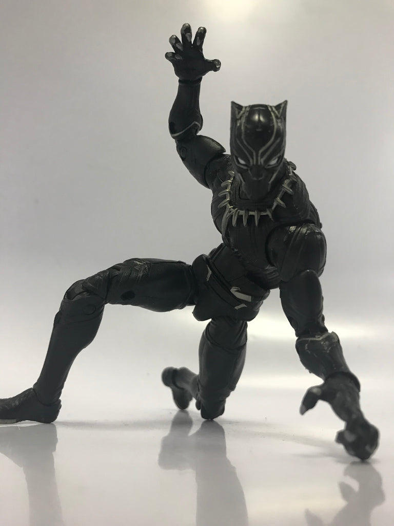 Hasbro Marvel Legends Captain America: Civil War Giant Man BAF Wave Black Panther Loose