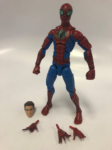 Hasbro Marvel Legends Spider-Man (From Two Pack with Mary Jane) Toys R Us Exclusive Loose