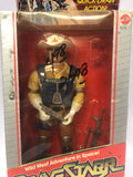 1986 Mattel Marshal Bravestarr with Quick Draw Action Solid Star Variant Sealed Unopen Box