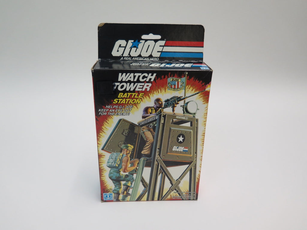 1984 Hasbro GI Joe Watch Tower Battle Station MISB Sealed