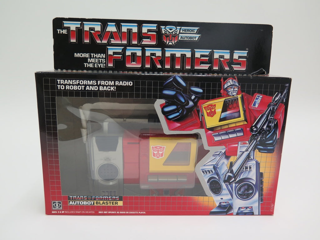 1986 Hasbro Transformers Autobot Blaster Complete Boxed