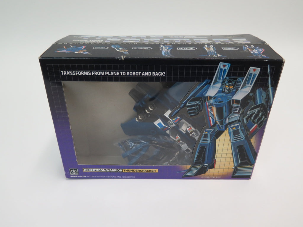 1984 Hasbro Transformers Decepticon Thundercracker Complete Boxed