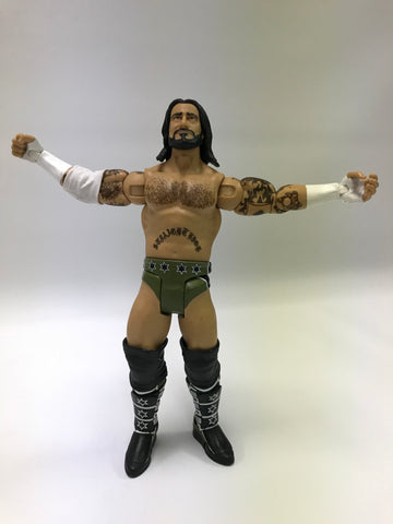 Mattel WWE WWF ECW WCW TNA Wrestling Elite Basic 5 CM Punk SES Straight Edge Society