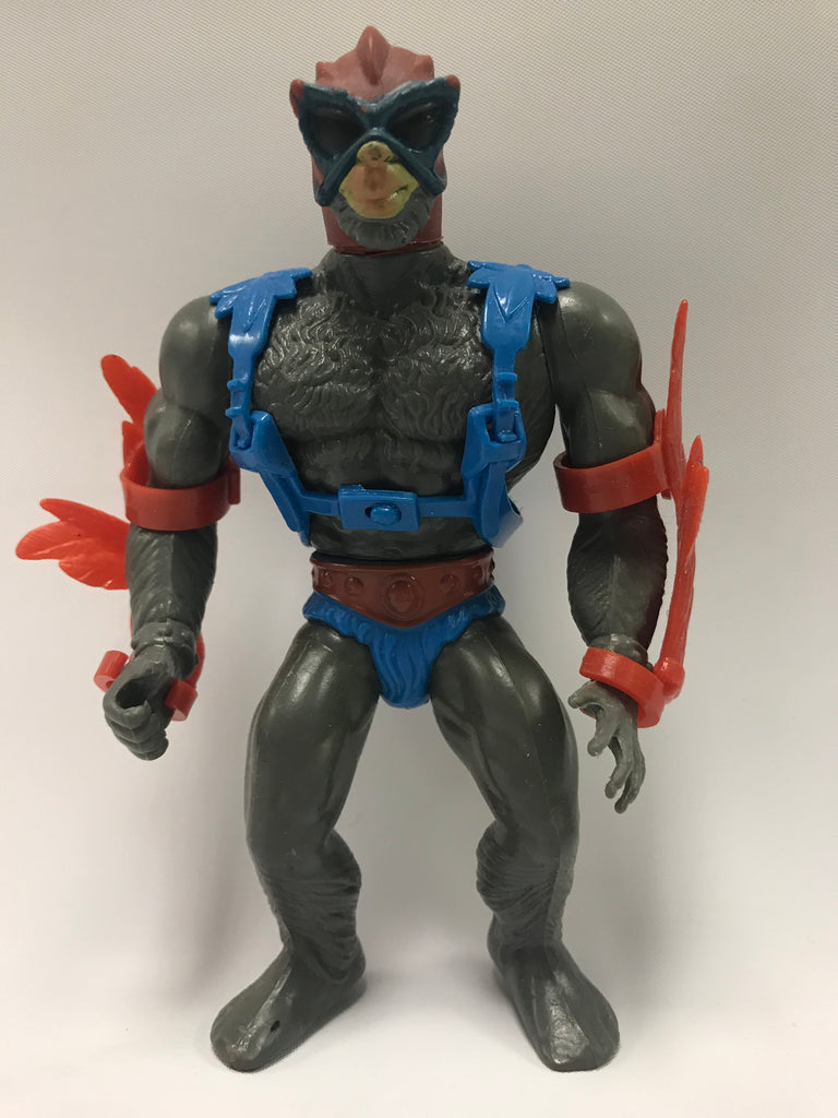 1983 Mattel He-Man & The Masters of the Universe Stratos (Red Wing) Loose Complete