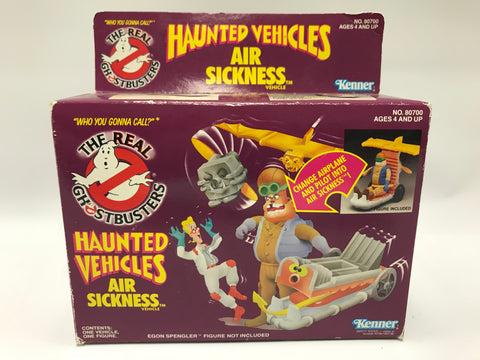 1986 Kenner The Real Ghostbusters Haunted Vehicles Air Sickness In Box
