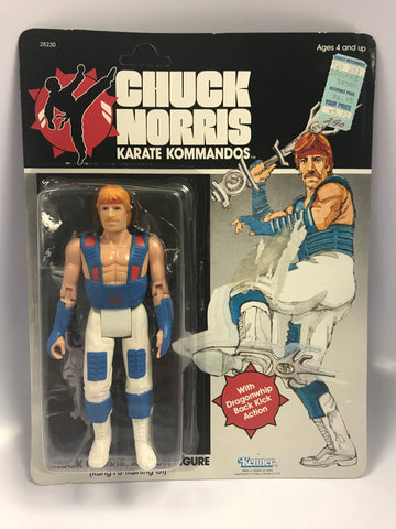 1986 Kenner Chuck Norris: Karate Kommandos Kung Fu Training GI Action Figure MOC Sealed