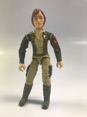 1983 Hasbro GI Joe COVER GIRL (v1) WOLVERINE DRIVER Loose