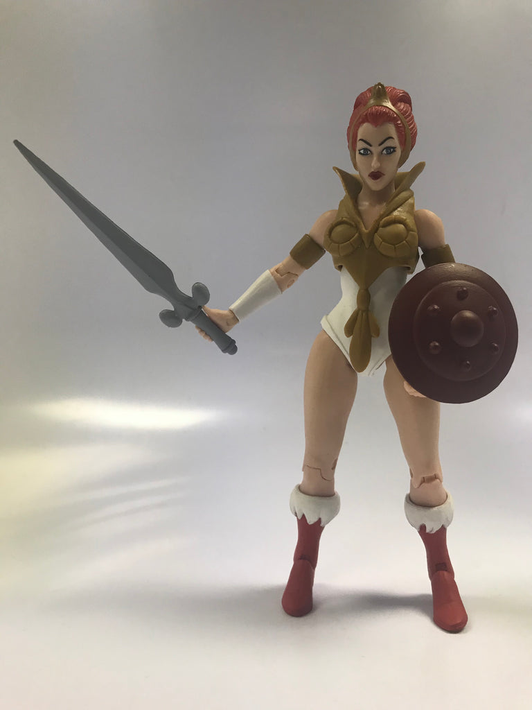 Mattel Super 7 Exclusive Masters of the Universe Classics MOTUC Filmation 2.0 Teela Loose Complete